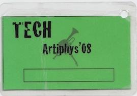 Artiphys 2008