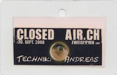 Closedair 2006