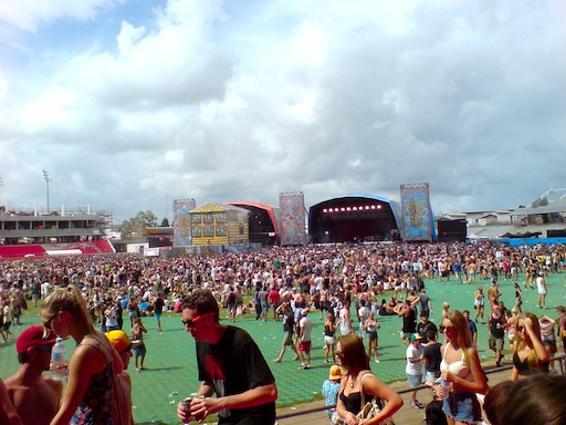 Big Day Out Sydney Olympic Park Mainstages