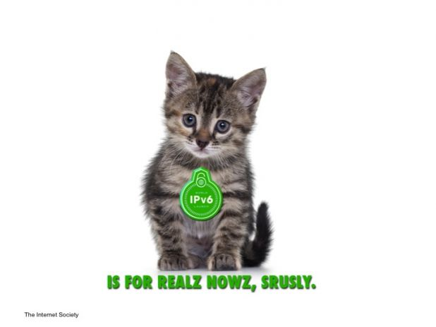 IPv6 - IS FOR REALZ NOWZ, SRUSLY